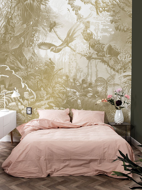 Goud behang Tropical Landscapes - MW-064