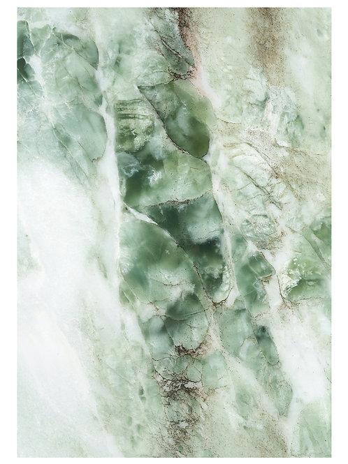 Fotobehang Marble - GROEN - WP-548
