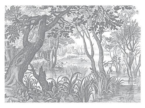 Fotobehang Engraved Landscapes lll - WP-646