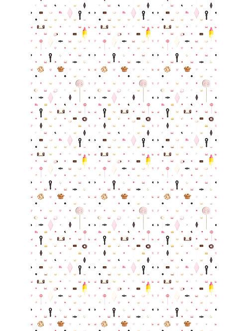 Snoep mix behang - WP-087