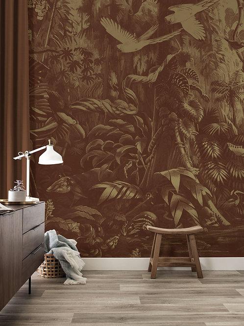 Goud behang Tropical Landscapes - MW-061