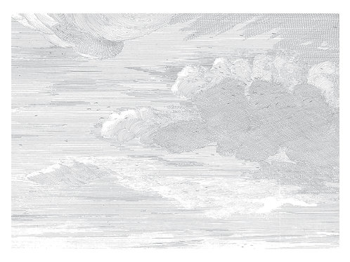 Fotobehang Engraved Cloudes l - WP-650