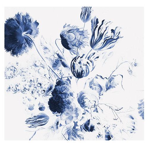 Fotobehang Royal Blue Flowers ll - WP-218