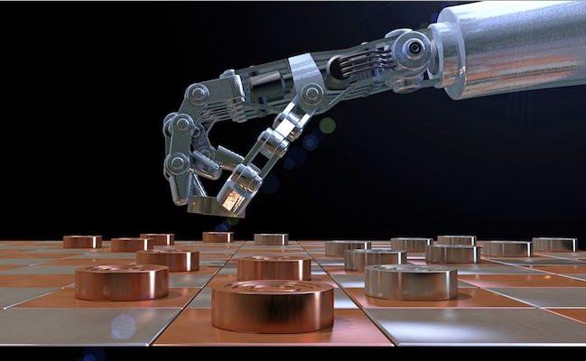 l'intelligence artificiel joue aux échecs avec l'humain