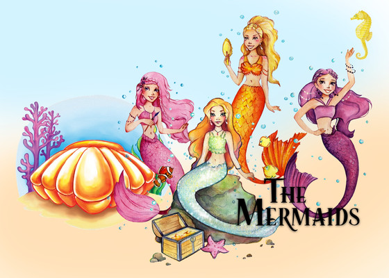 "New @ Whimseez ""The Mermaids"""