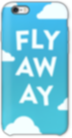 "iphone case ""fly away"""