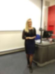 Eliana holding workshop