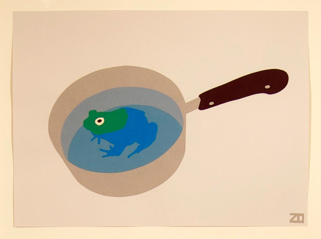 Frog In Pot