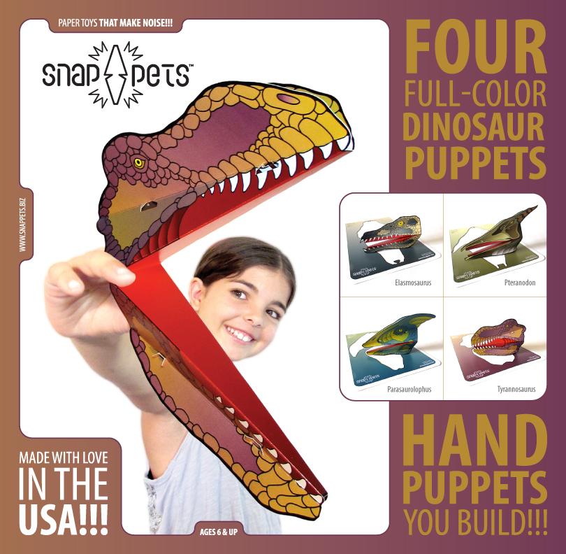 Dinosaur Snappets Pack #2 Insert