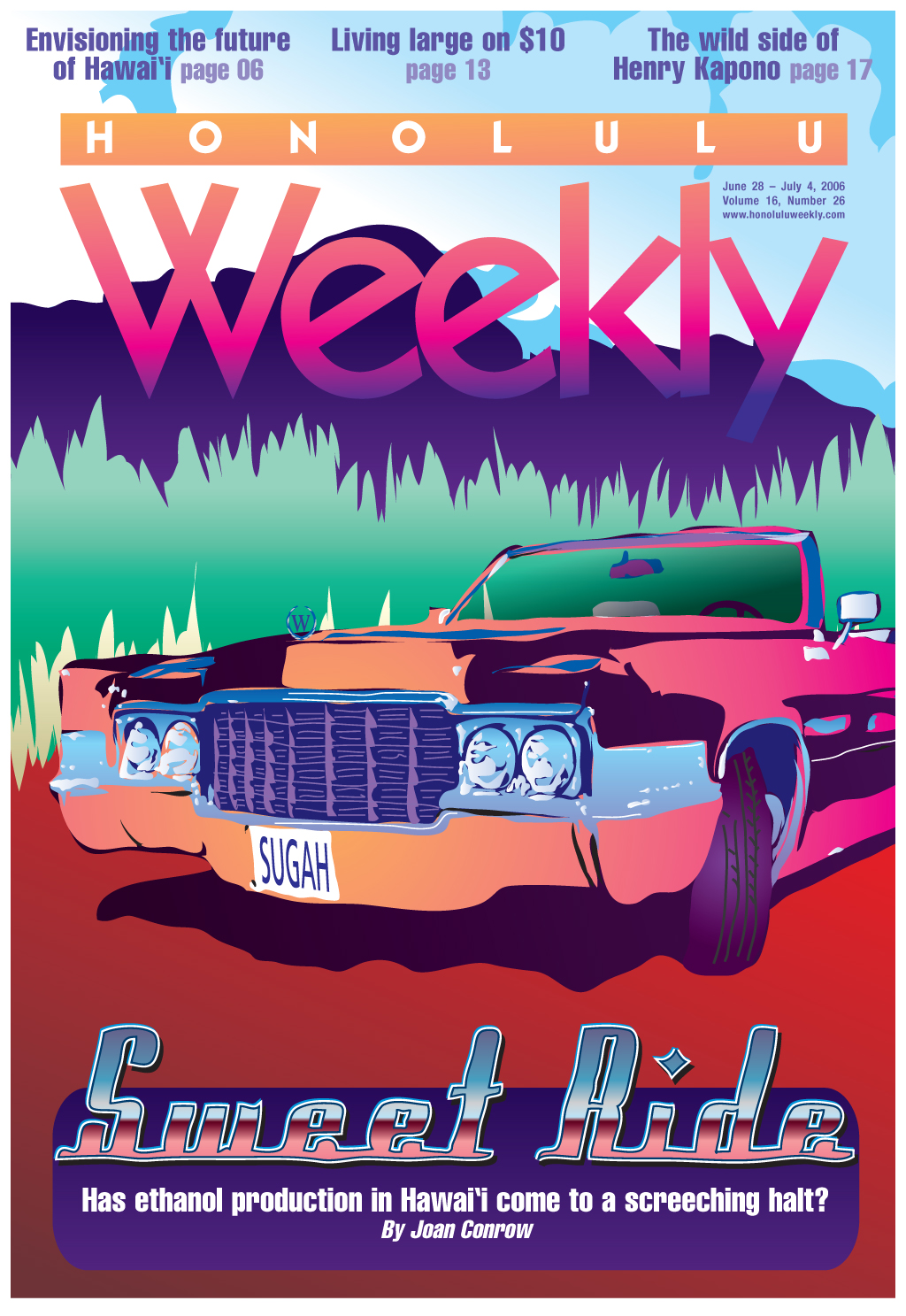 062806 Honolulu Weekly Cover