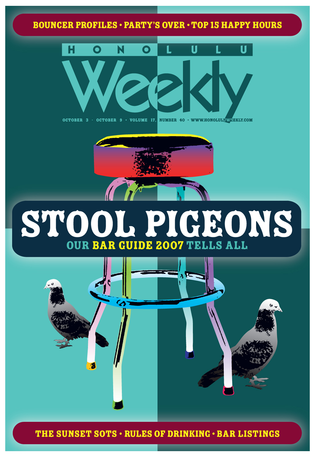 100307 Honolulu Weekly Cover