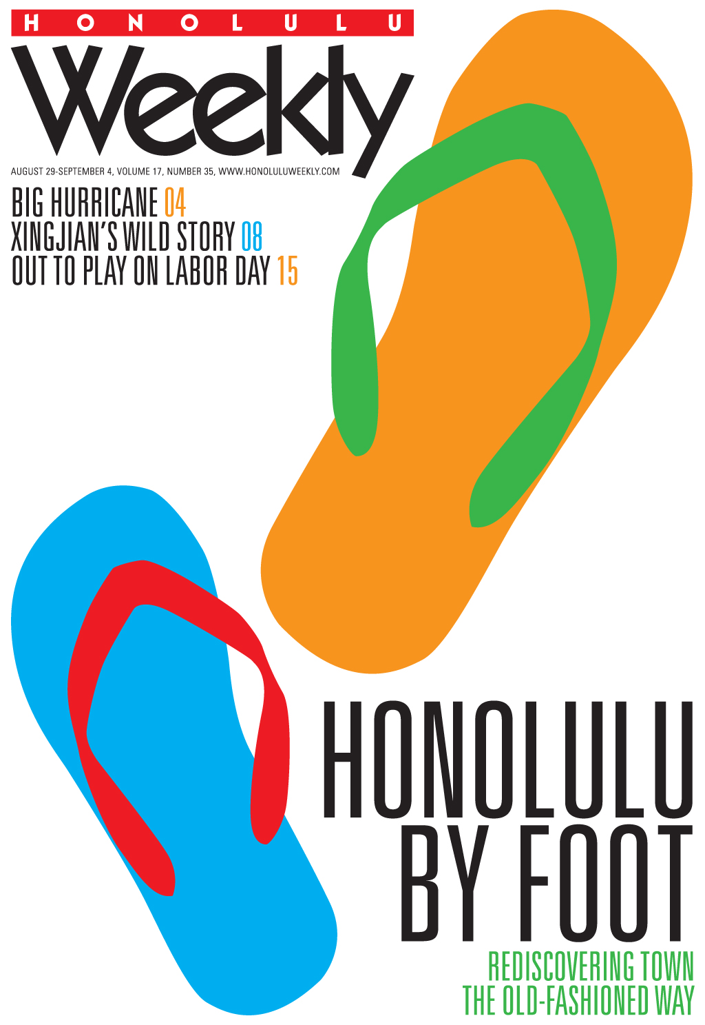 082907 Honolulu Weekly Cover