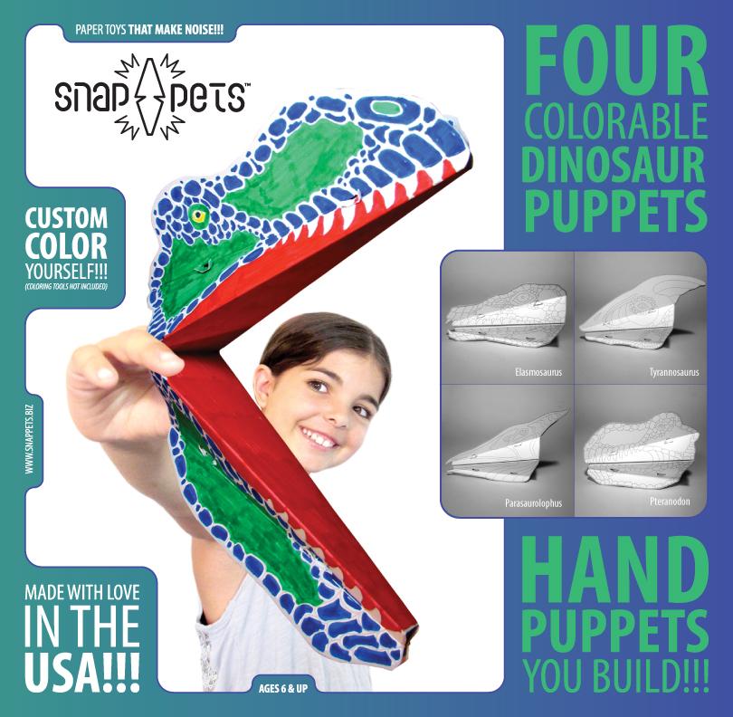 Dinosaur Snappets Pack #4 Insert