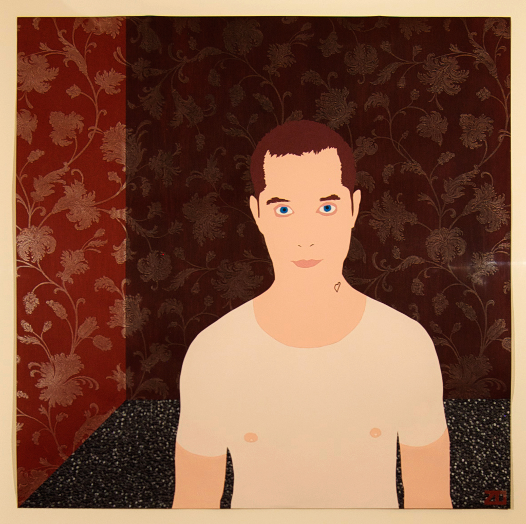 Self Portrait (with Wallpaper)