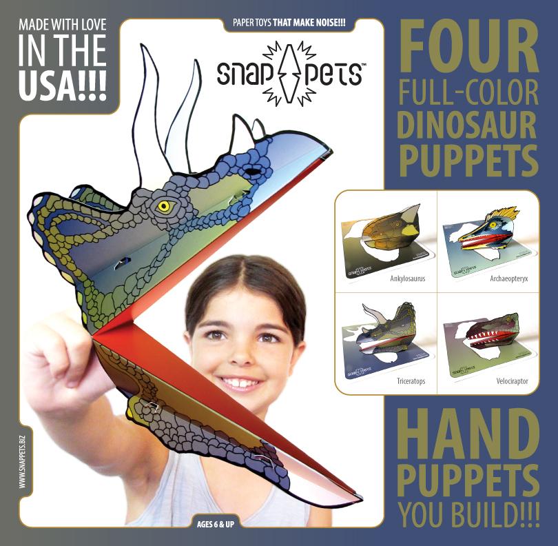 Dinosaur Snappets Pack #1 Insert