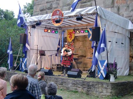 Schottischer Abend auf der Burg Sponheim