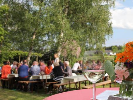 Sommerfest im Weingut Weyl im Juli