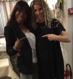 With Susanne Hueber