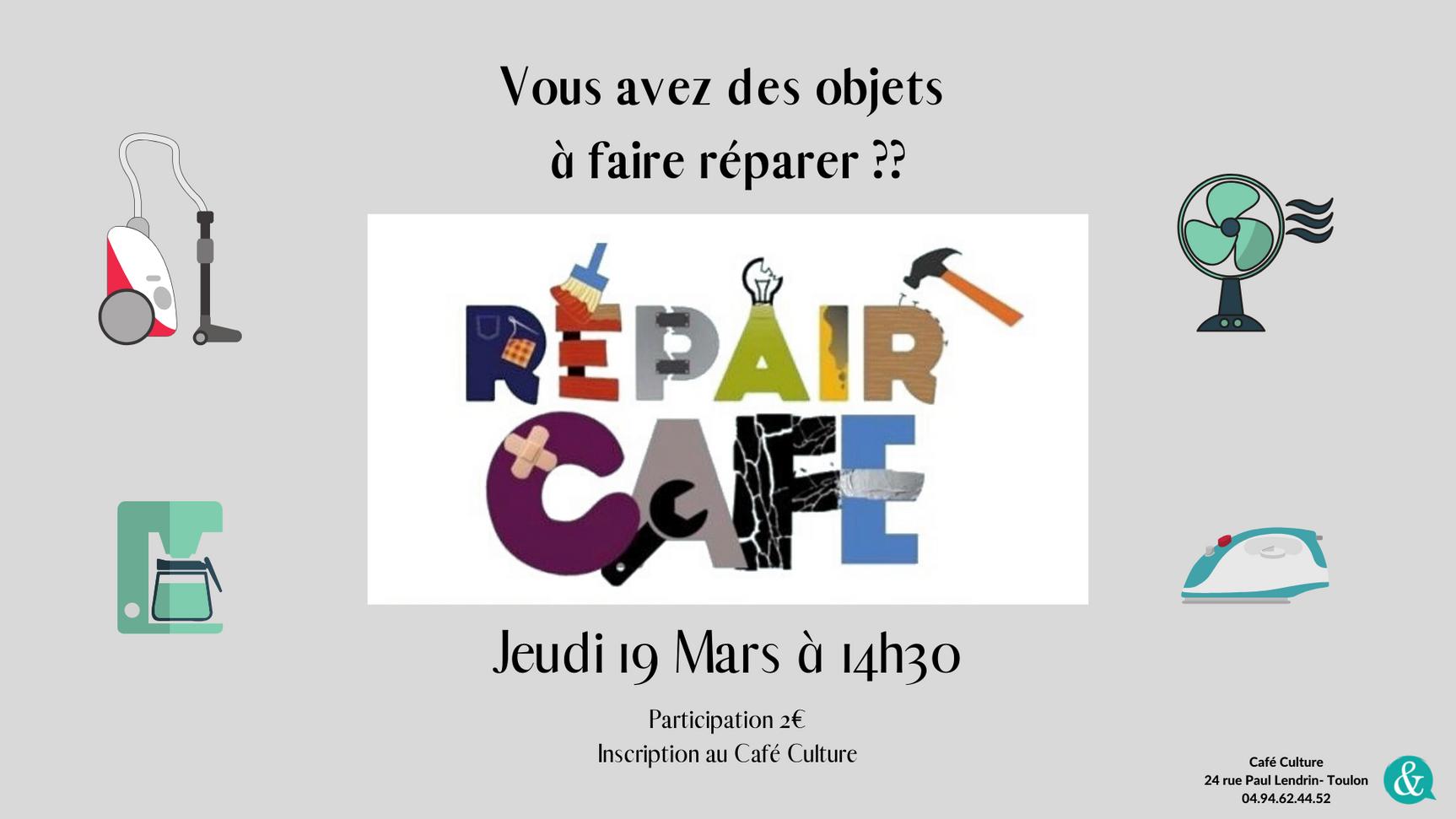 Repair Café 02.20