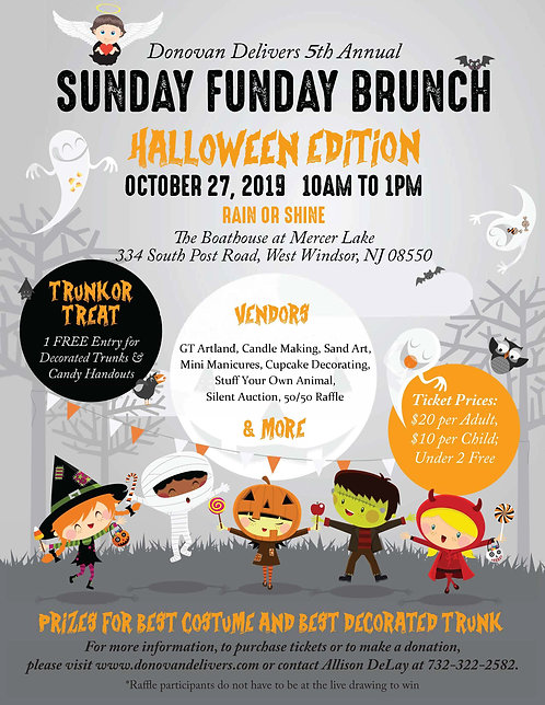 5th Annual Sunday Funday Brunch Halloween Edition - *CHILD* Tickets