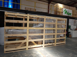 Food Machinery Crated