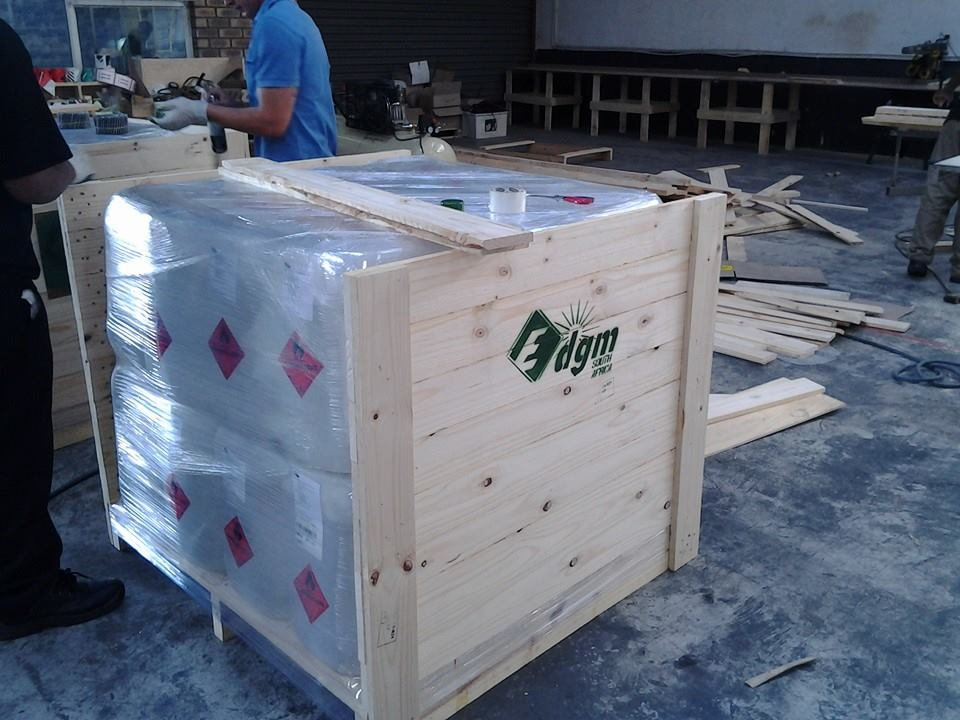 Crating Hazardous Goods