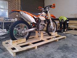 Motorbike Crate