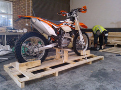 Motorbike Crating