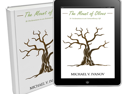 Author signed Book: The Mount of Olives