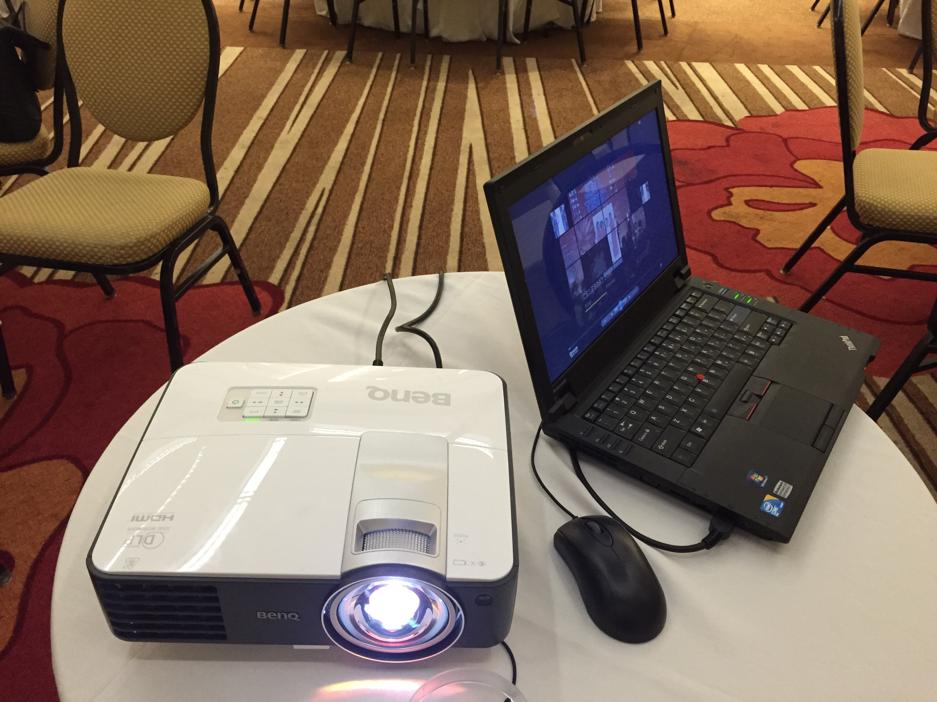 Projector and Laptop Package