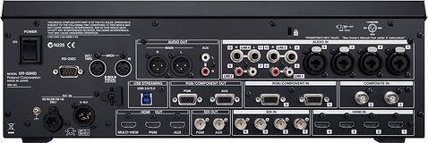 Roland VR-50 Rental Back Panel