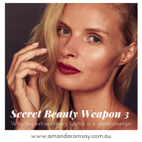 SECRET WEAPON NUMBER 3 – Why this extraordinary lipstick is a game changer.