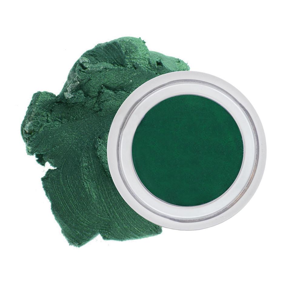 Au Natural organic creme eyeshadow in olive leaf