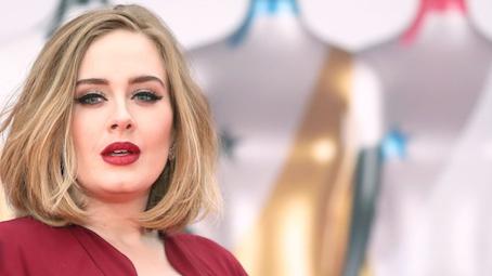 Adele winged eyeliner