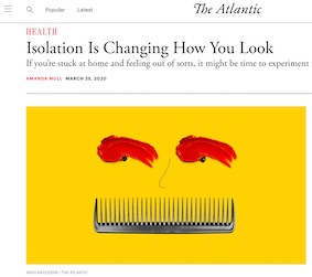 isolation is changing how you look