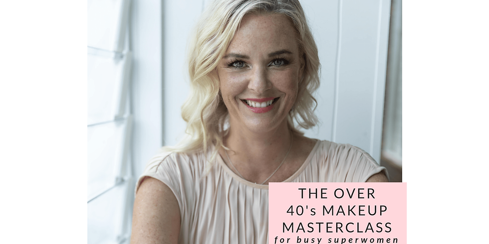BRISBANE  - The Makeup Masterclass for over 40's - Summer Party Look