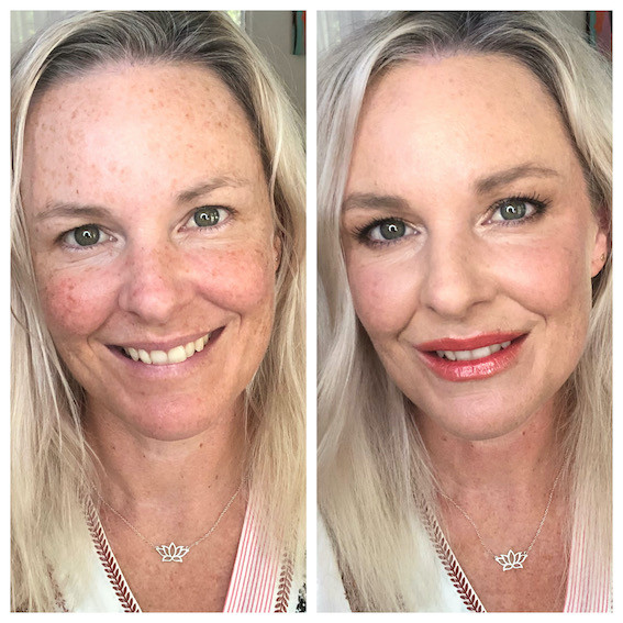 isolation makeup for mature women
