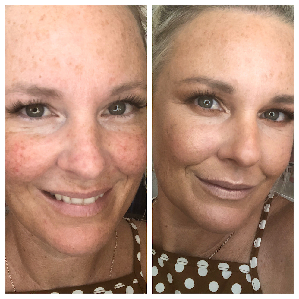how to use bronzer makeup to shape mature women