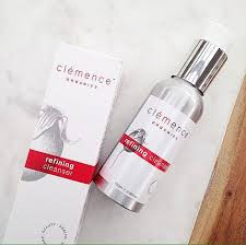 Clemence organic face cleanser