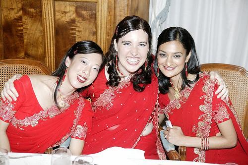 Gorgeous bridesmaids