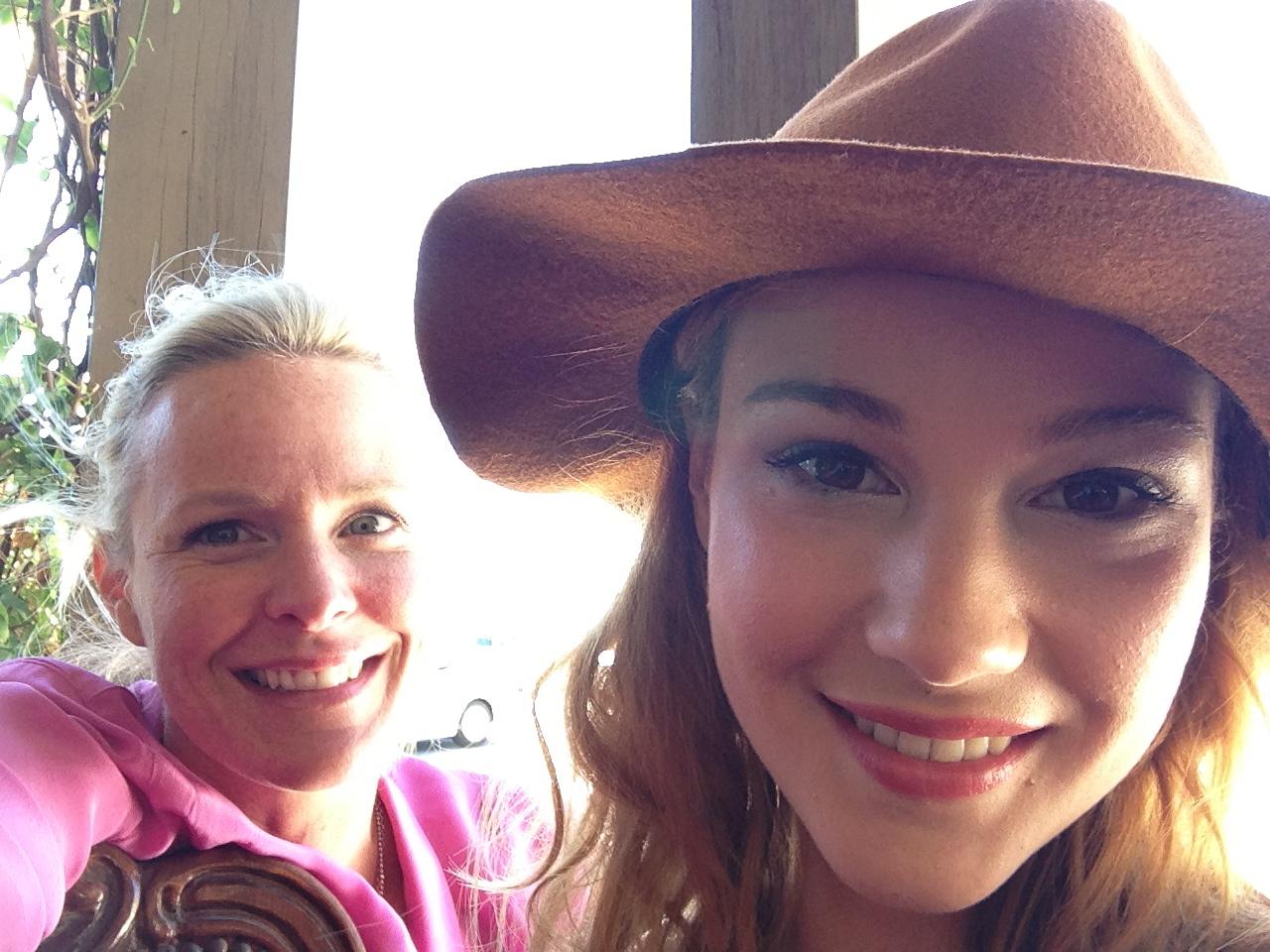 Bella Ferraro and Amanda Ramsay
