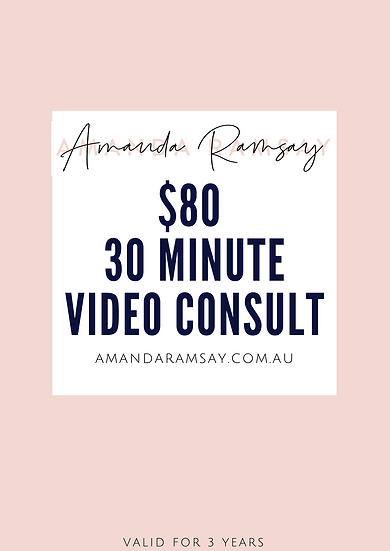 30 minute Video Makeup Consult for women 40+