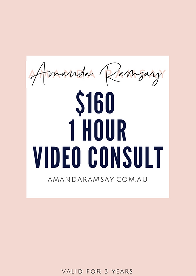 1 Hour Video Makeup Consult for women 40+