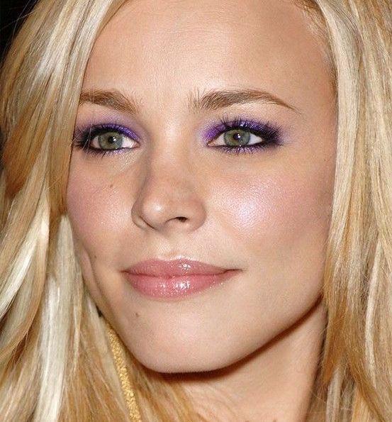 Rachel mc adams pastel makeup