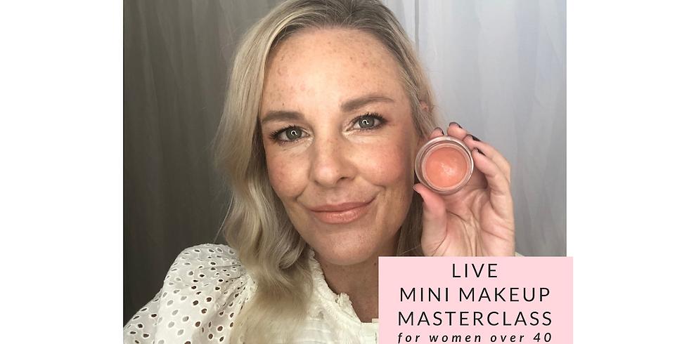 FREE mini makeup masterclass on Facebook Live - Blush