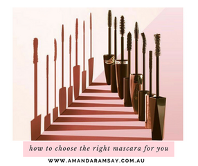How to choose the right mascara for you.
