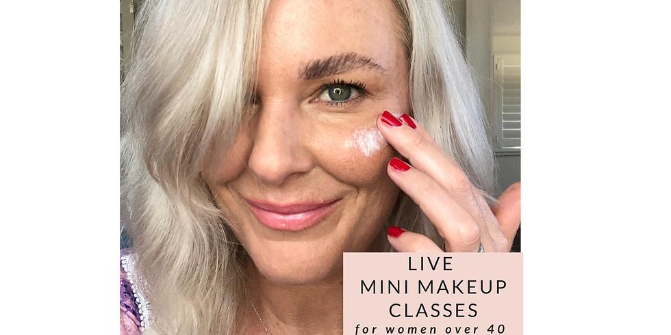 FREE mini makeup session - Sunscreen and makeup