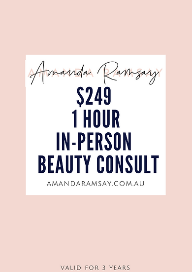 1 Hour In-Person Makeup Consult for women 40+