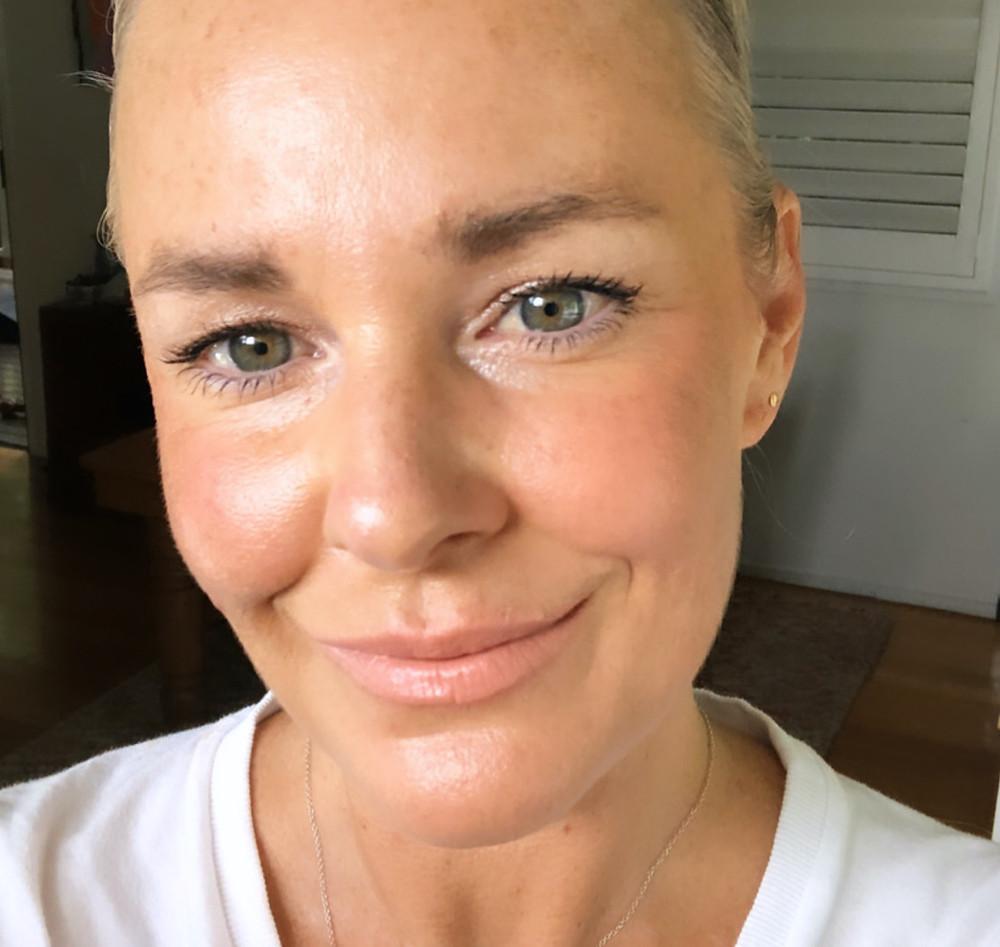 five minute makeup for mature skin