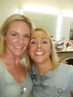 Emma Snowsill and Amanda Ramsay